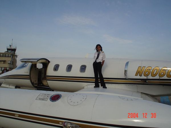 My flight training in USA